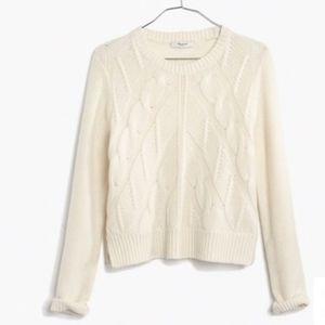 100% wool Madewell sweater
